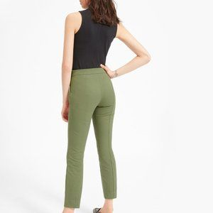 Everlane Side-Zip Stretch Cotton Work Pant Size 2